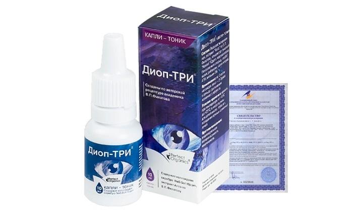 ДИОП-ТРИ для глаз и восстановления зрения: создан специально для заботы о зрительных органах!
